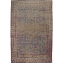Luxor Living Vintage-Teppich Barock braun 80 x 150 cm