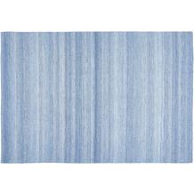 Luxor Living In- und Outdoorteppich Bodo blau gemustert 60 x 120 cm