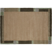 Luxor Living Nepalteppich Manali taupe 40 cm x 60 cm