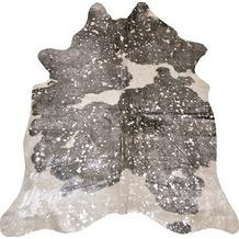 Luxor Living Rinderfell Deluxe weiß braun silber 3-5 m²