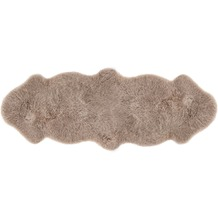 Luxor Living Schaffell Double taupe 60 cm x 160 cm