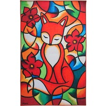 Luxor Living Kinderteppich Moré Red Fox 100 cm x 160 cm
