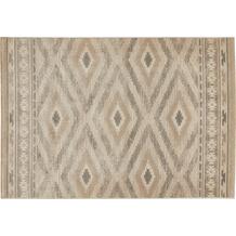 Luxor Living Teppich CASTELL Grau gemustert 60 x 110 cm