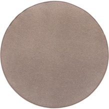 Luxor Living Teppich Luton dunkelbeige 200 cm rund
