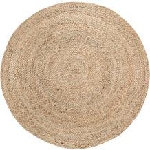 Luxor Living Teppich Mamda, natur 80 cm rund