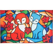 Luxor Living Kinderteppich Moré Freundschaft 100 cm x 160 cm
