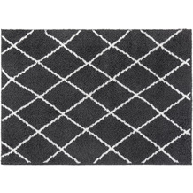 Luxor Living Teppich Pula anthrazit-weiß 79803 80 x 150