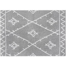 Luxor Living Teppich Pula silber-weiß 79810 80 x 150