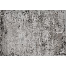 Luxor Living Teppich SARAGOSSA Dunkelgrau gemustert 67 x 140 cm