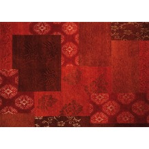 Luxor Living Nepal-Teppich Tingri rot 90 x 160 cm
