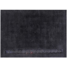 Luxor Style Nepal-Teppich Royal anthrazit 140 x 200 cm