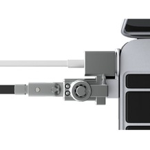 Maclocks Bracket with Wedge Lock MacBook 12