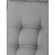 MADISON Panama grey Aufl. niedr. 75% BW 25% Polyester