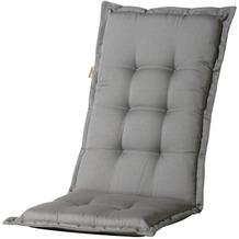 MADISON Panama grey Auflage hoch 75% BW 25% Polyester