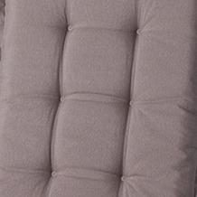 MADISON Panama taupe Auflage niedrig 75% Baumwolle 25% Polyester