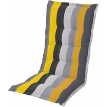 MADISON Victoria gelb Auflage Sessel hoch 75% Baumwolle 25% Polyester