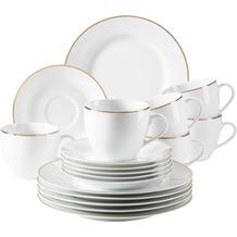 Mäser Professional Dining Kaffeeservice für 6 Personen 18-teilig weiß