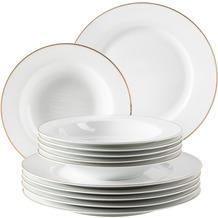 Mäser Professional Dining Tafelservice für 6 Personen 12-teilig weiß