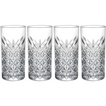 Mäser Timeless, Longdrinkbecher 29,5 cl, Gläser-Set, 4 teilig