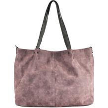 Maestro Surprise Bag in Bag Shopper Tasche 45 cm rose hellgrau