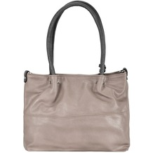 Maestro Surprise Bag in Bag Shopper Tasche 35 cm perla dunkelgrau