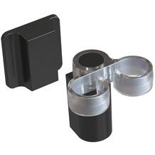 Magisso Spülbürstenhalter, schwarz, Kunststoff, Magnet