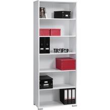 MAJA Möbel Aktenregal SYSTEM Icy-weiß 79,8 x 214,4 x 40 cm