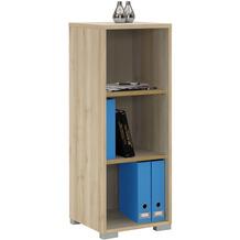 MAJA Möbel Aktenregal System Edelbuche 42,1 x 109,7 x 40 cm