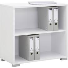 MAJA Möbel Aktenregal System Icy-weiß 79,8 x 74,8 x 40 cm