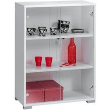 MAJA Möbel Aktenregal System Sets Icy-weiß 80 x 109,7 x 40 cm