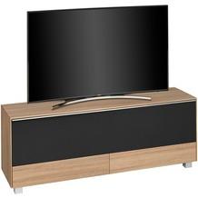 MAJA Möbel Soundconcept 7776 Sonoma-Eiche - Akustikstoff schwarz Soundboard