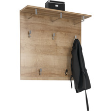 MAJA Möbel Garderoben - Paneel Trend Riviera Eiche 90 cm