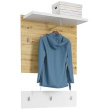 MAJA Möbel Garderoben - Paneel Vendo Asteiche weiß Hochglanz