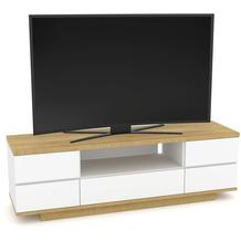 MAJA Möbel Lowboard Media Modelle Holz Riviera Eiche weiß Hochglanz
