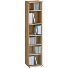 MAJA Möbel Medienregal Sonoma-Eiche 250 x 1100 x 240 mm