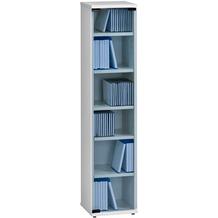 MAJA Möbel Medienregal weiß uni 250 x 1100 x 240 mm