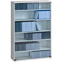 MAJA Möbel Medienregal weiß uni 750 x 1100 x 240 mm