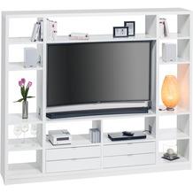 MAJA Möbel Raumteiler mit Cableboard weiß Nr.2 2200 x 1861 x 400 mm