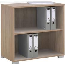 MAJA Möbel Regal System Sonoma-Eiche 79,8 x 74,8 x 40 cm