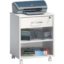 MAJA Möbel Rollcontainer Office Einzelmodelle weiß uni 45,6 x 59,1 x 36 cm