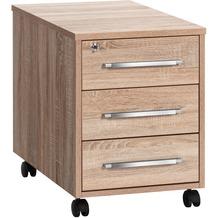 MAJA Möbel Rollcontainer SYSTEM Sonoma-Eiche 43 x 59 x 65 cm
