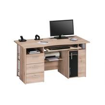 MAJA Möbel Schreib- und Computertisch OFFICE EINZELMODELLE Edelbuche 144 x 76 x 67 cm