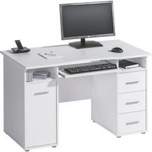 MAJA Möbel Schreib- und Computertisch OFFICE EINZELMODELLE Icy-weiß 120 x 75 x 67 cm
