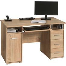 MAJA Möbel Schreib- und Computertisch Sonoma-Eiche 1200 x 750 x 670 mm