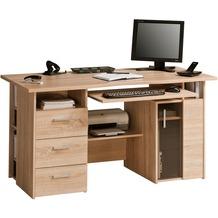 MAJA Möbel Schreib- und Computertisch OFFICE EINZELMODELLE Sonoma-Eiche 144 x 76 x 67 cm