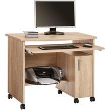 MAJA Möbel Schreib- und Computertisch OFFICE EINZELMODELLE Sonoma-Eiche 94 x 77 x 60 cm