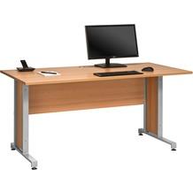 MAJA Möbel Schreibtisch Buche 1600 x 750 x 800 mm