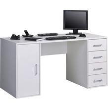 MAJA Möbel Schreibtisch Office weiß uni
