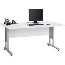 MAJA Möbel Schreibtisch System Sets Icy-weiß Typ II 160 cm