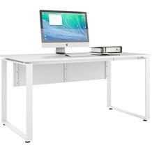 MAJA Möbel Schreibtisch Trendo weiß matt Typ II
